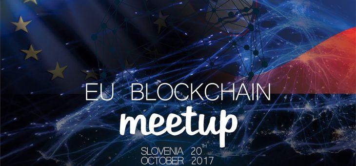 EU BLOCKCHAIN MEETUP – 20. oktober 2017
